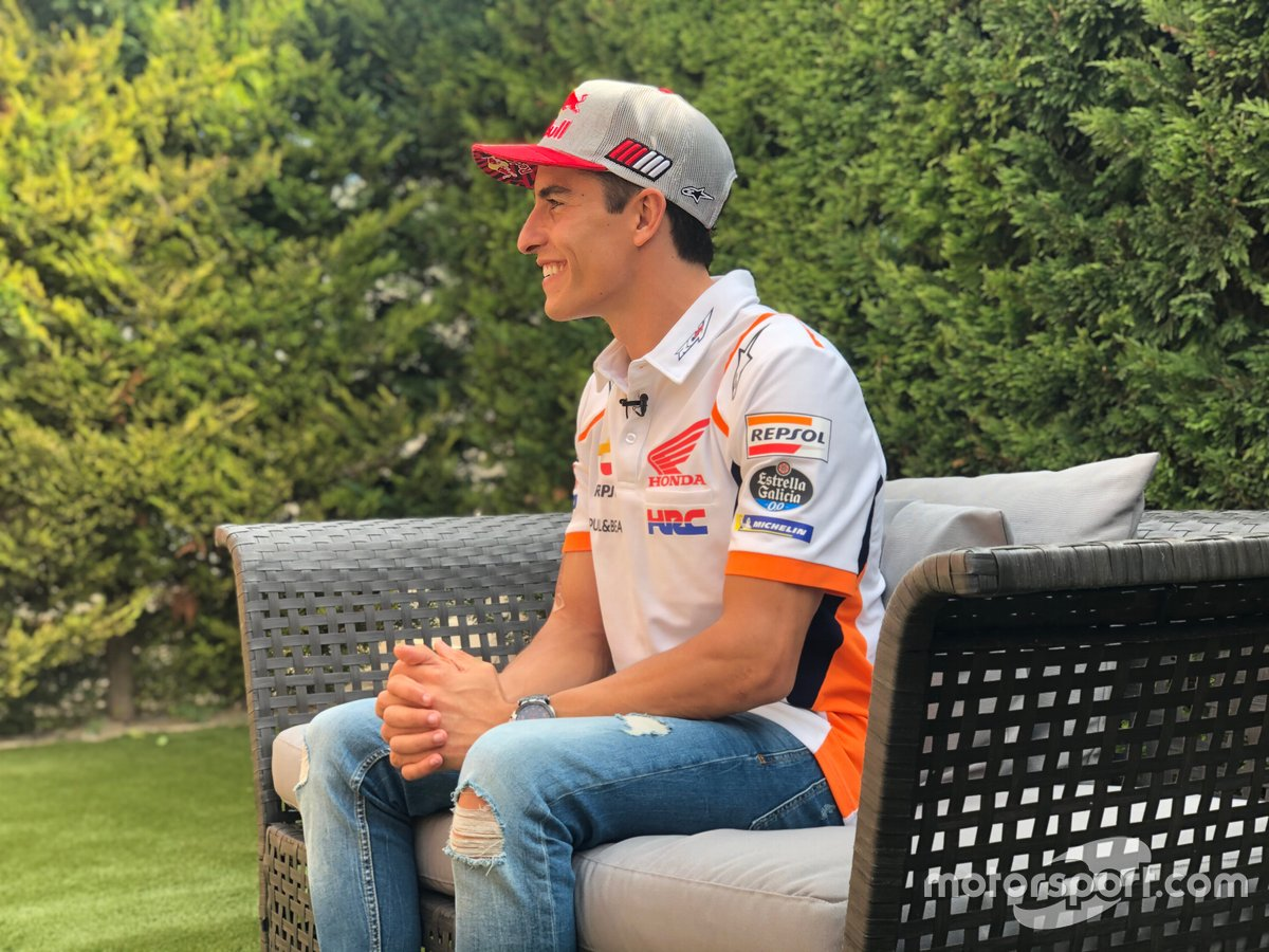 Intervista a Marc Márquez, Repsol Honda Team, nel 2020