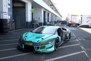 #21 Konrad Motorsport Lamborghini Huracan GT3 Evo: Axcil Jefferies, Franck Perera, Marco Mapelli, Michele Di Martino