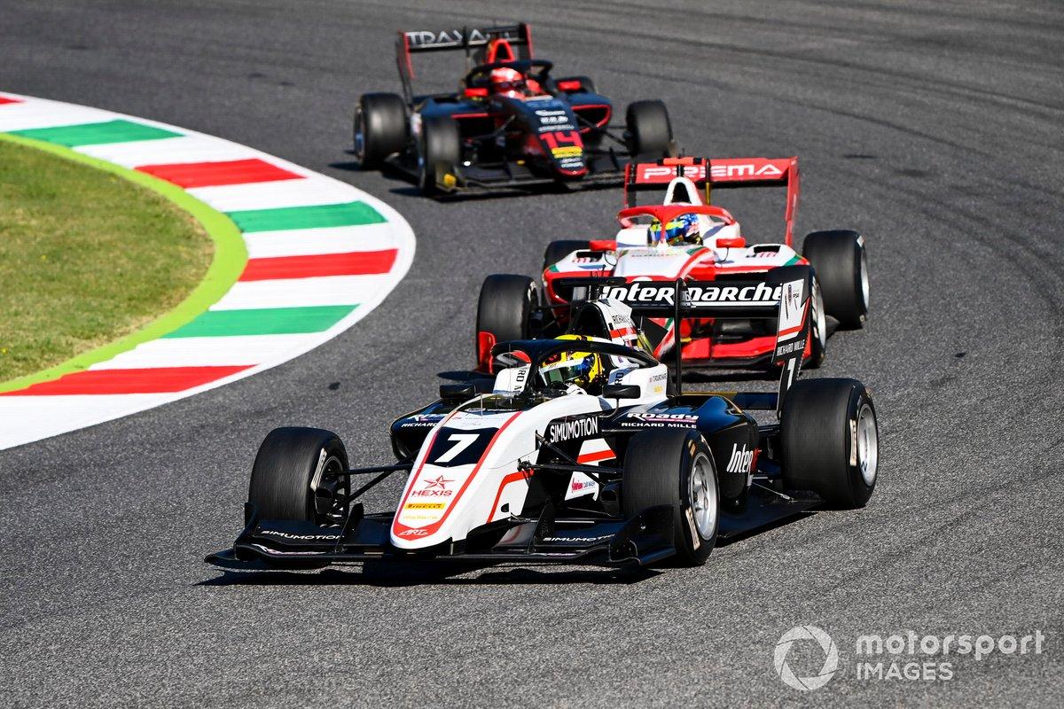 Theo Pourchaire, ART Grand Prix, Logan Sargeant, Prema Racing e Enzo Fittipaldi, HWA Racelab