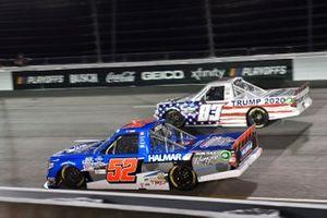 Stewart Friesen, Halmar Friesen Racing, Toyota Tundra Halmar Racing To Beat Hunger Tim Viens, CMI Motorsports, Chevrolet Silverado