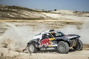 Carlos Sainz, Lucas Cruz, MINI X-Raid buggy