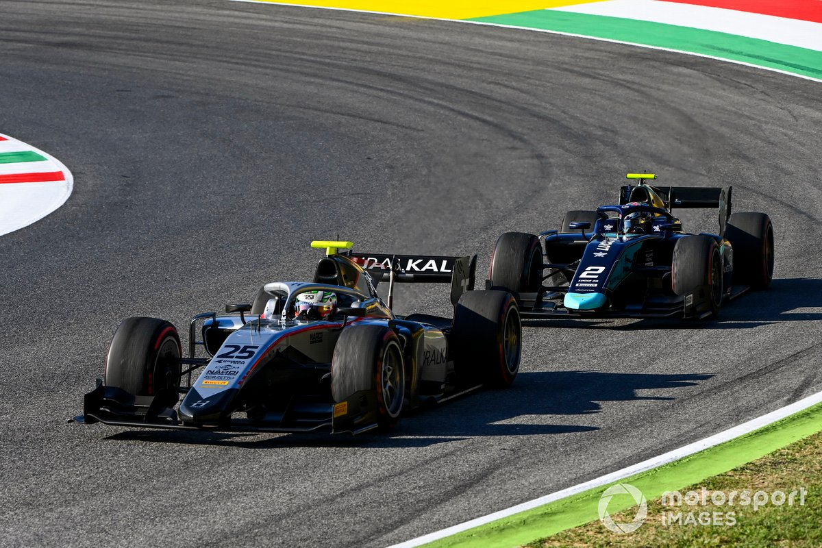 Luca Ghiotto, Hitech Grand Prix, Dan Ticktum, Dams