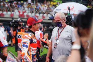 Marc Marquez, Repsol Honda Team, Helmut Marko