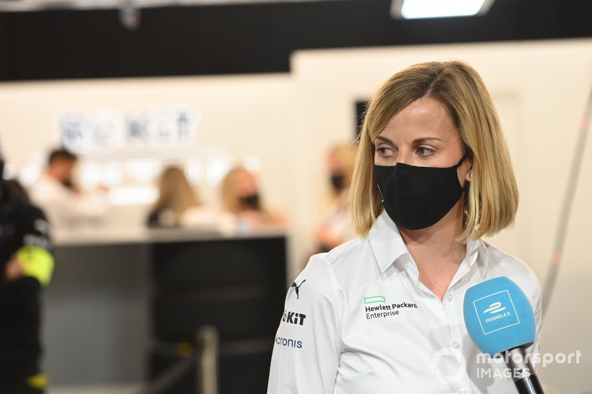 Susie Wolff, jefa de equipo de Venturi Racing