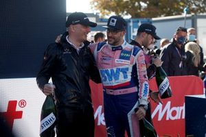 Champion podium: Champion Maximilian Götz, Haupt Racing Team, Stefan Wendl, Head of AMG Customer Racing