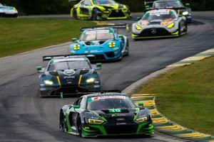 #39: CarBahn con Peregrine Racing Audi R8 LMS GT3, GTD: Richard Heistand, Jeff Westphal