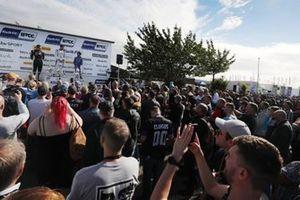 Senna Proctor, BTC Racing Honda Civic Type R, Aiden Moffat, Laser Tools Racing Infiniti Q50, Jake Hill, MB Motorsport Ford Focus ST