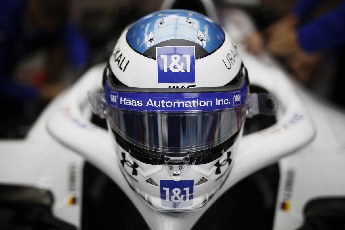 Casco celebrativo di Mick Schumacher, Haas F1 Team