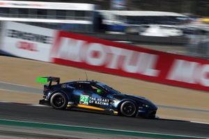 #27 Heart of Racing Team Aston Martin Vantage GT3, GTD: Ian James, Alex Riberas