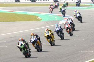 Supersport-Action in Assen