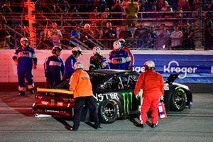 Choque de Kurt Busch, Chip Ganassi Racing, Chevrolet Camaro Monster Energy