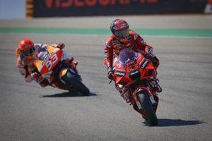 Francesco Bagnaia, Ducati Team, Marc Márquez, Repsol Honda Team
