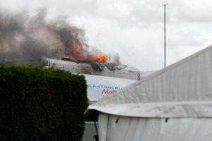 Fire in the paddock