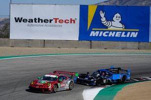 #9: Pfaff Motorsports Porsche 911 GT3R, GTD: Zacharie Robichon, Laurens Vanthoor ,#10: Konica Minolta Acura ARX-05 Acura DPi, DPi: Ricky Taylor, Filipe Albuquerque