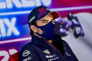 Sergio Perez, Red Bull Racing in conferenza stampa