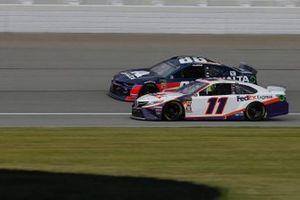 Denny Hamlin, Joe Gibbs Racing, Toyota Camry FedEx Express Alex Bowman, Hendrick Motorsports, Chevrolet Camaro Axalta