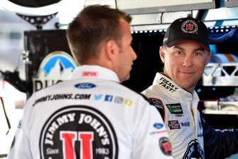 Kevin Harvick, Stewart-Haas Racing, Ford Mustang Jimmy John's and Rodney Childers