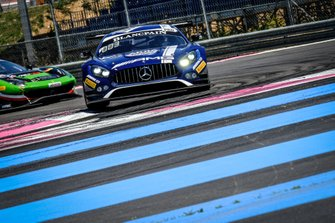 #88 Mercedes-AMG Team Akka ASP Mercedes-AMG GT3: Vincent Abril, Michael Meadows, Raffaele Marciello