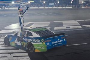 All-Star Race Winner Kyle Larson, Chip Ganassi Racing, Chevrolet Camaro Advent Health