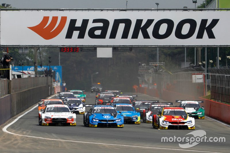 Start der DTM 2019 in Zolder
