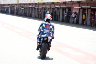 Alex Rins, Team Suzuki MotoGP na crash