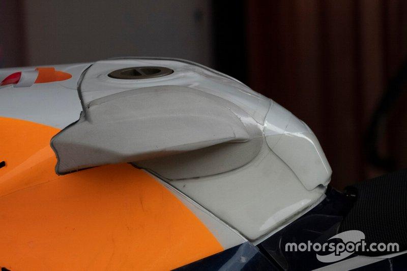 Jorge Lorenzo, Repsol Honda Team, novedades ergonómicas Barcelona
