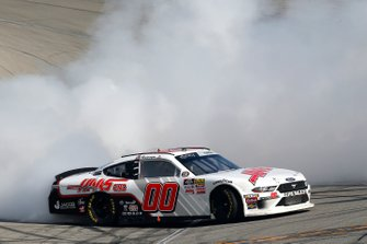 Race Winner Cole Custer, Stewart-Haas Racing, Ford Mustang Haas Automation