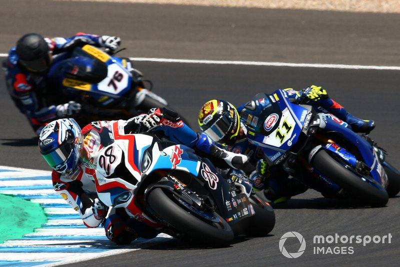 Markus Reiterberger, BMW Motorrad WorldSBK Team, Sandro Cortese, GRT Yamaha WorldSBK, Loris Baz, Althea Racing