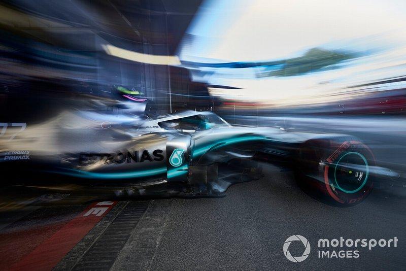 Azerbaijan GP: Valtteri Bottas, Mercedes