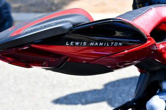 Motorbike of Lewis Hamilton, Mercedes AMG F1