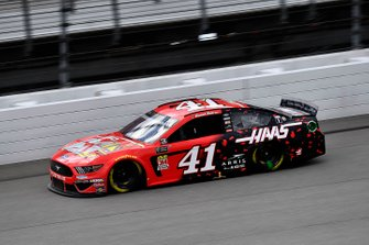 Daniel Suarez, Stewart-Haas Racing, Ford Mustang Haas Automation Demo Day