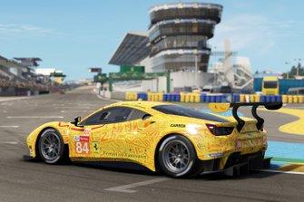 JMW Motorsport Ferrari 488 GTE: Jeff Segal, Rodrigo Baptista, Wei Lu