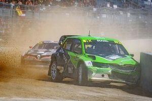 Francois Duval, ES Motorsport crash