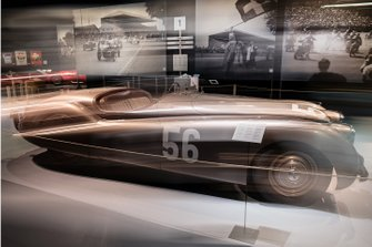 Bern City Museum exhibition featuring Formula 1 races in Switzerland from 1934 - 1954
