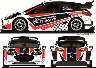 Jouni Virtanen, Risto Pietiläinen, Ford Fiesta RS WRC Neste Rally Finland