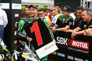 Polesitter Lucas Mahias, Kawasaki Puccetti Racing, WorldSSP