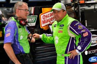 Ryan Newman, Roush Fenway Racing, Ford Mustang Acorns and Scott Graves