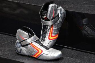 Unique Alpine Stars Boots of Carlos Sainz Jr., McLaren