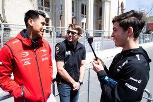 Шон Гелаэль, Prema Racing, Джордан Кинг, MP Motorsport, и Джек Эйткен, Campos Racing