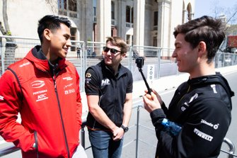 Sean Gelael, PREMA RACING Jordan King, MP MOTORSPORT Jack Aitken, CAMPOS RACING