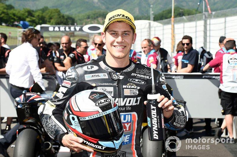 Ganador de la pole Marcel Schrotter, Intact GP