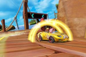 Captura del Team Sonic Racing