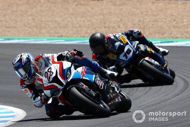 Markus Reiterberger, BMW Motorrad WorldSBK Team, Loris Baz, Ten Kate Racing