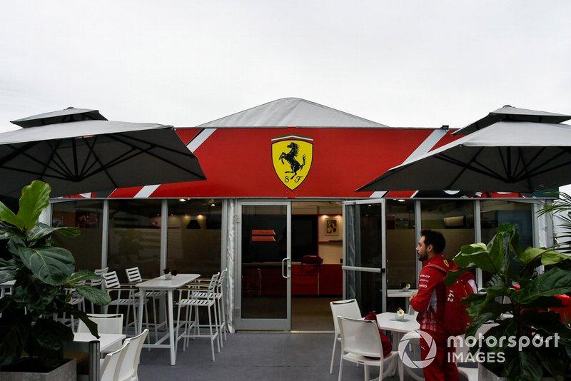 El hospitality de Ferrari
