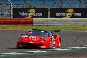 #444 HB Racing Ferrari 488 GT3: Florian Scholze, Andrzej Lewandowski, Jens Liebhauser