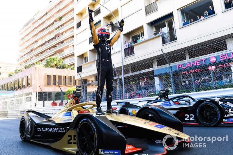 Race winner Jean-Eric Vergne, DS TECHEETAH, DS E-Tense FE19