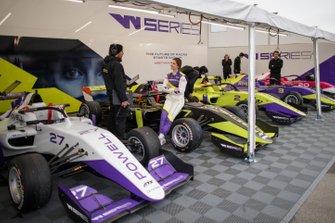 W-Series-Fahrerlager