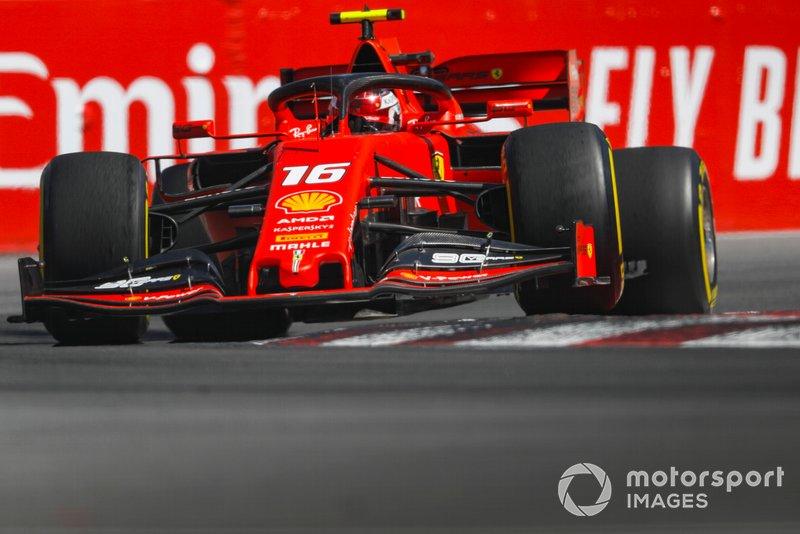 3: Charles Leclerc, Ferrari SF90, 1'10.920