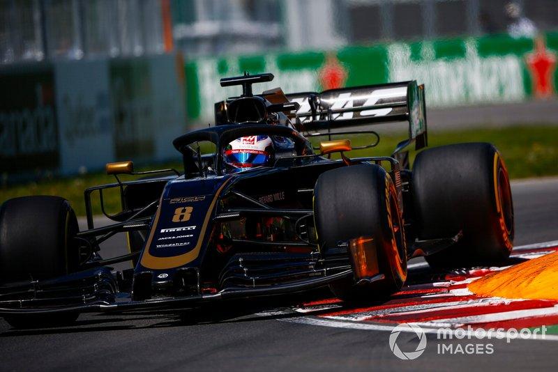 Romain Grosjean – volta 1
