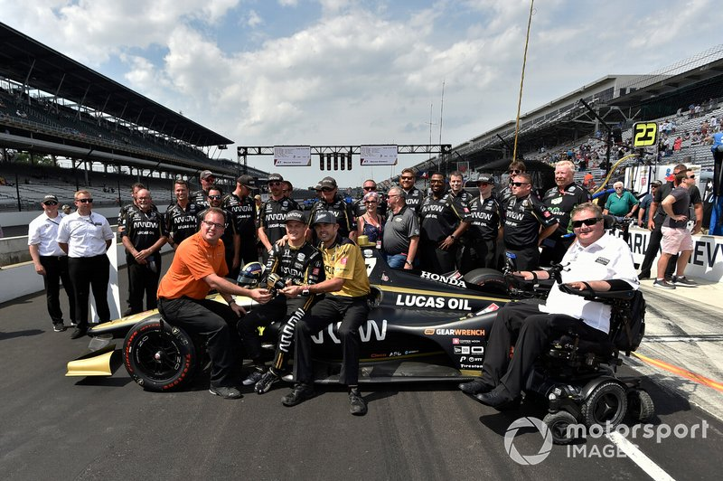 Marcus Ericsson, Sam Schmidt, Arrow Schmidt Peterson Motorsports Honda